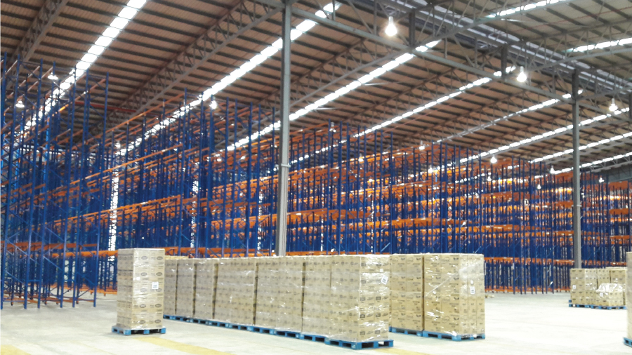 Double Deep Pallet Racking System 5