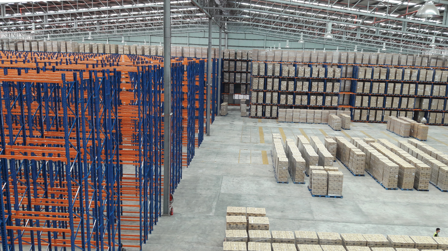 Double Deep Pallet Racking System 4