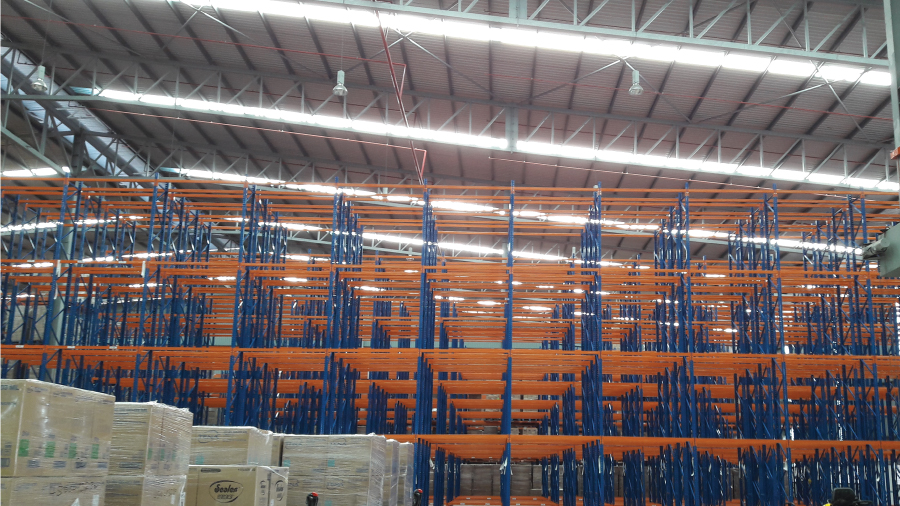 Double Deep Pallet Racking System 2