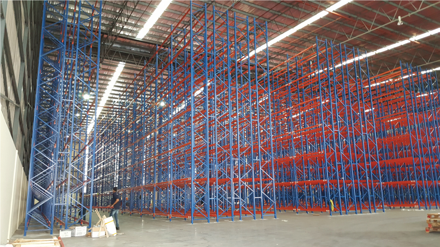 Double Deep Pallet Racking System