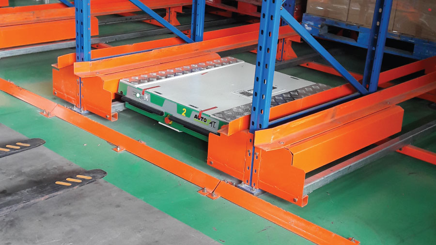 Radio Shuttle Racking System 2