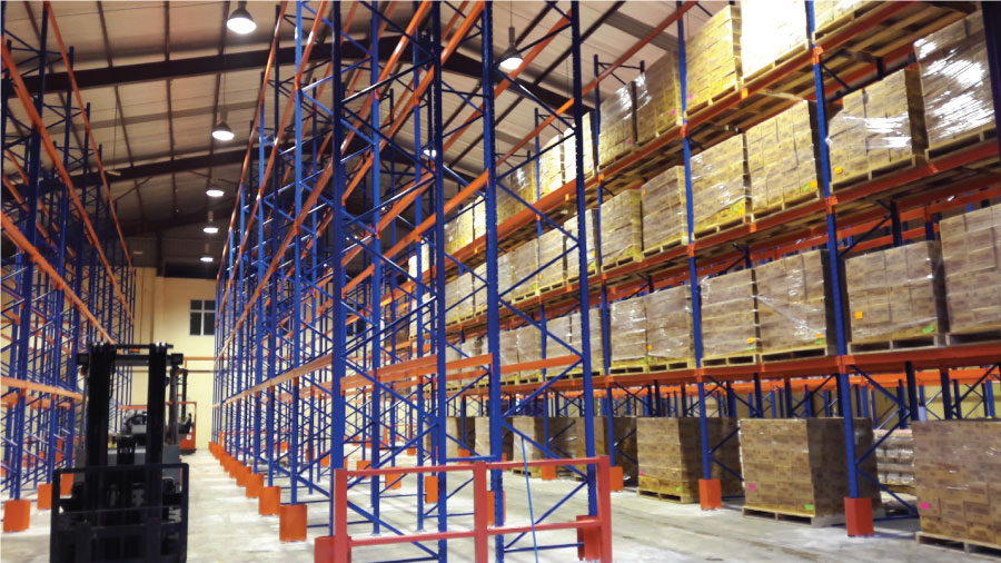 Selective Pallet Racking System 9