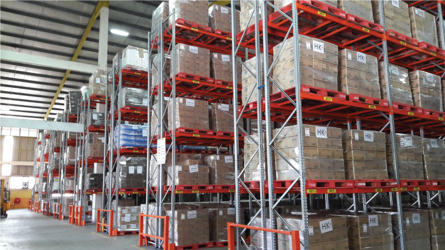 Selective Pallet Racking System 8