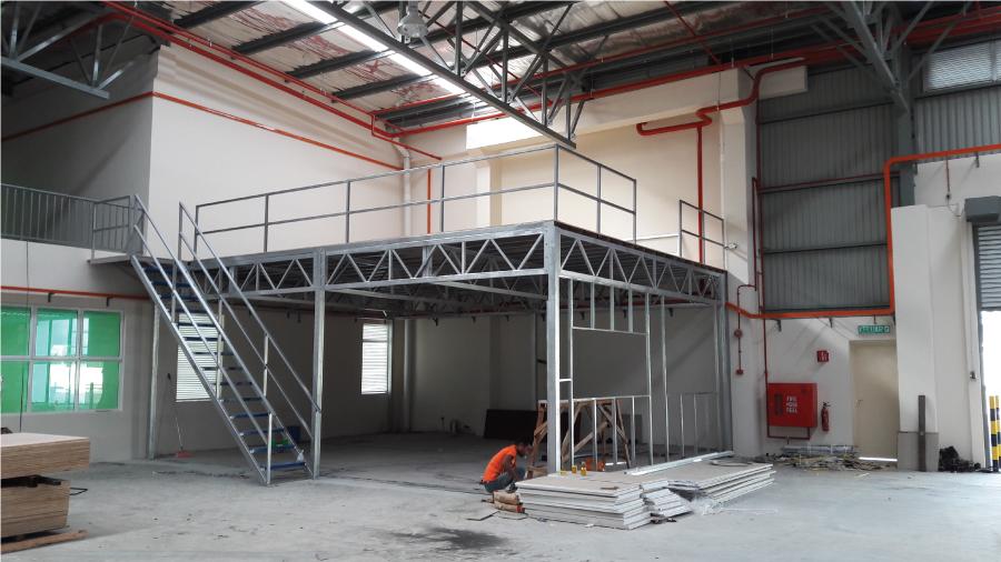 Mezzanine Floor 4