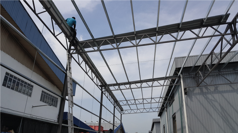Steel Structure Roofing 5