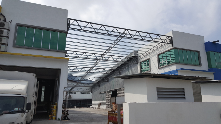 Steel Structure Roofing 4